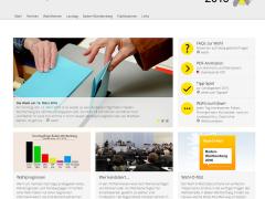 Das Landtagswahlportal in neuem Look