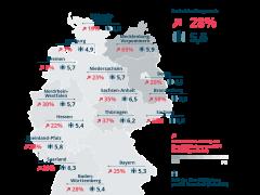 Einer von 20 Deutschen ist älter als 80