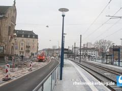 Arbeiten in der Friedrich-Ebert-Straße