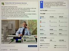 Mannheimer Polizeigewerkschafter wird Facebook-Star