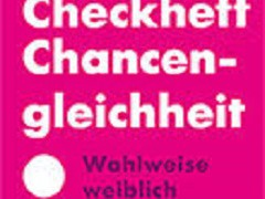"""""""Checkheft Chancengleichheit"""""""