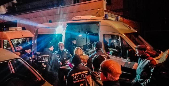 Polizei Mannheim Neckarstadt West Zugriff Mittelstraße-214508