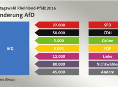 AfD erzielt in Ludwigshafen das beste Ergebnis in Rheinland-Pfalz