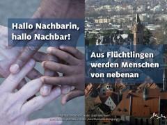 """""""Aus Flüchtlingen werden Nachbarn"""""""