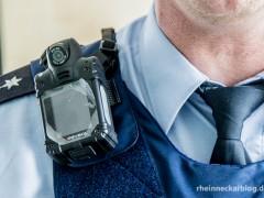 Erprobungsphase zu Bodycam gestartet