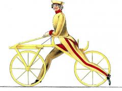 Lenker, Sattel, Rahmen, Räder – eine epochale Erfindung