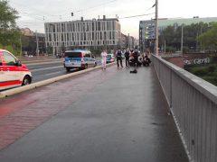 Polizei rettet Person aus hilfloser Lage