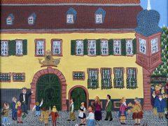Kinder beim Museumstag in Weinheim