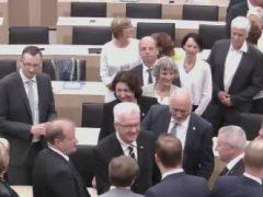 Winfried Kretschmann erneut als Ministerpräsident gewählt