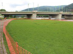 Sicherheitsbeleuchtung an der Neckarwiese