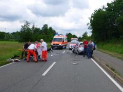 Unfall auf der L549