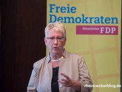 Dr. Birgit Reinemund ist erneut Bundestagskandidatin der FDP Mannheim