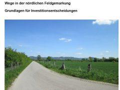 Brücken und Wege in der nördlichen Feldgemarkung