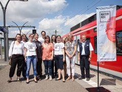 Neckartal und Züge der S-Bahn Rhein-Neckar werden zur Bühne