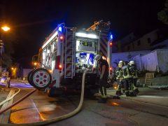 34-Jähriger nach Zimmerbrand verletzt