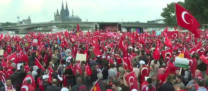demo pro erdogan koeln