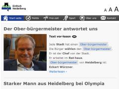 Heidelberger Online-Nachrichtenportal für Menschen mit Lese- und Lernproblemen