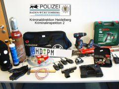 Herbeiführung einer Sprengstoffexplosion in mehreren Fällen und schwerer Bandendiebstahl