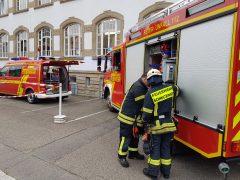 Feuerwehreinsatz aufgrund defekter Beleuchtung in der Südstadtschule