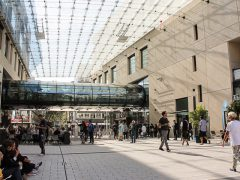 Das unvollendete Einkaufsquartier