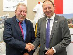 Erster Bürgermeister wird neuer Vorsitzender des Vereins SiMA