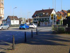 Petersbrücke in Weinheim wieder befahrbar