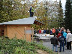 Waldpavillon in Weinheim ist fertig