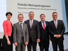 Grenzenlos kooperativ –  Europäische Metropolregionen in Deutschland
