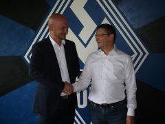 Markus Kompp (links) mit Präsident Klaus-Rüdiger Geschwill. Große Aufgaben liegen vor der Vereinsführung.