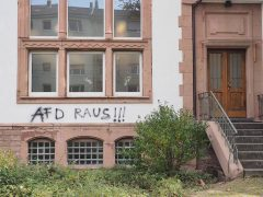Linksradikaler Angriff auf die Lanz-Kapelle