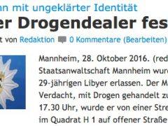 Rechtsaufsichtsbeschwerde gegen die Staatsanwaltschaft Mannheim