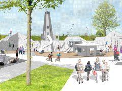 Entwürfe für Spiellandschaft an der Bahnlinie treffen auf breite Zustimmung