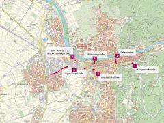 Aktuelle Baustellen in Heidelberg