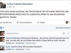 """Historisches Posting – Grüne finden gemeinsame Abstimmung mit LKR """"positiv"""""""