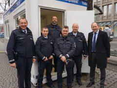 """""""Sicherheitscontainer"""" am Paradeplatz"""