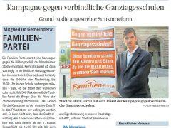 Stadtrat Ferrat erzwingt erneute Änderung des Redaktionsstatuts