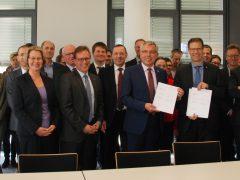 Rhein-Neckar und Flämisch-Brabant besiegeln Zusammenarbeit