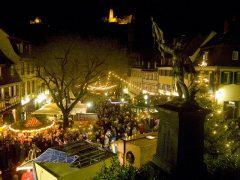 Weihnachten unter den Burgen