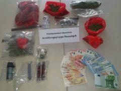 Drei Drogendealer in Untersuchungshaft