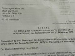 """Antrag der CDU zur Sitzung des Hauptausschusses am 13: Dezember in Sachen """"AKZ"""""""