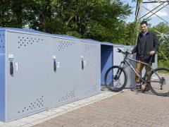 Heiß begehrte Fahrradboxen