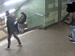 Tatverdächtiger U-Bahn-Treter gefasst