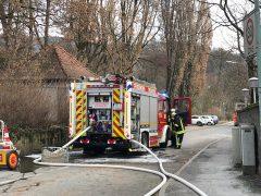 Polizei meldet Küchenbrand in der Alten Postgasse