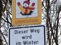 Wintersportler lösen Großeinsatz am Waidsee aus
