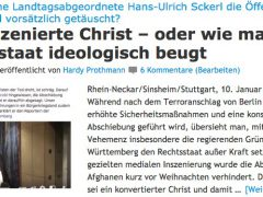 """Evangelische Kirche lädt nur """"ausgewählte"""" Journalisten ein"""