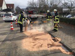 Feuerwehr muss technische Hilfe leisten