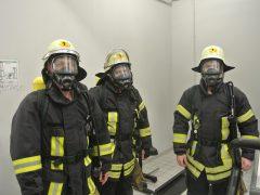 Atemschutzübung bei der Berufsfeuerwehr Heidelberg