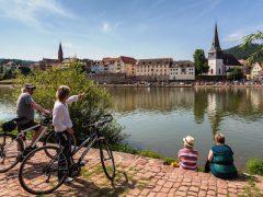 Die neue Übersichtskarte für den Neckartalradweg ist erschienen