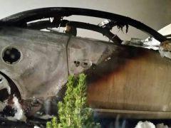 Auto der Ehefrau von AfD-Politiker Junge ausgebrannt