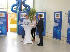 Wanderausstellung zum Thema EU im Landratsamt